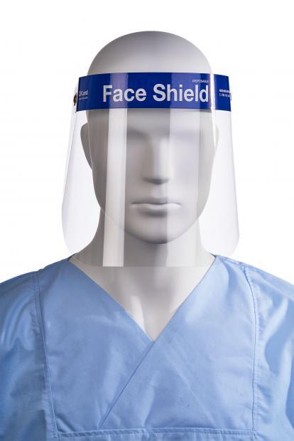 Einweg-Visier (Face Shield)