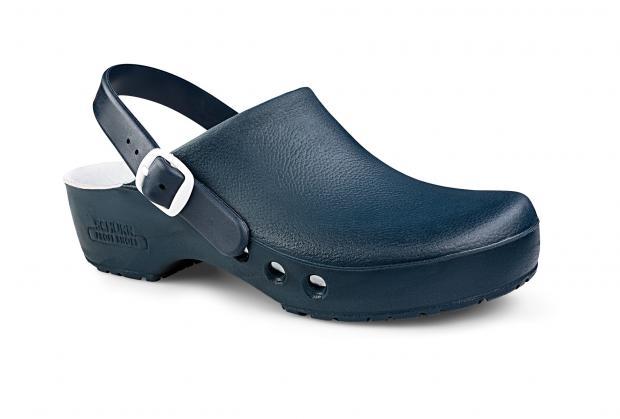 OP-Schuh CHIROCLOG PROFESSIONAL mit Seitenbelüftung und Fersenriemen