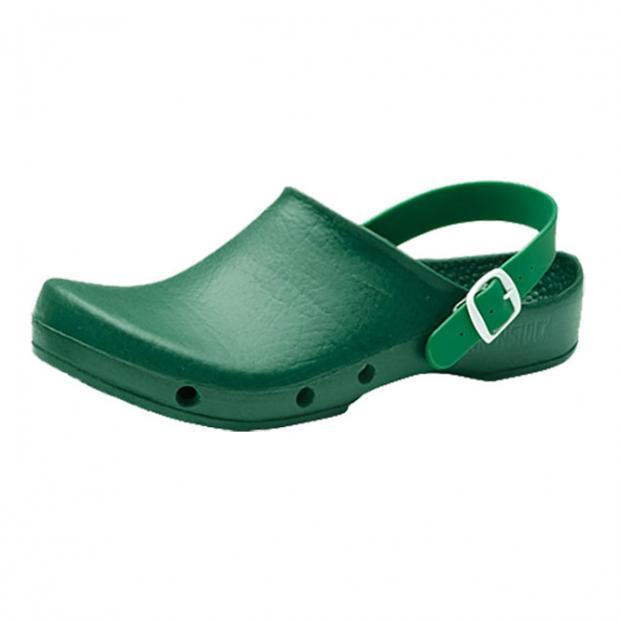 OP-Schuh KLASSIK BIRKI PLUS mit Seitenbelüftung und Fersenriemen